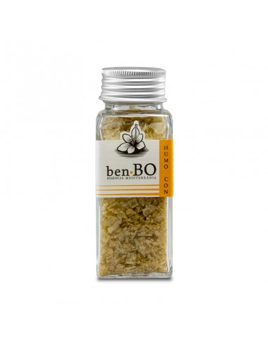 Smoked Salt Flakes with Ginger