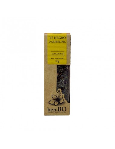 Té negro Darjeeling Ecológico