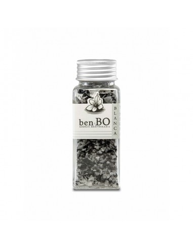 Black and White Salt Flakes