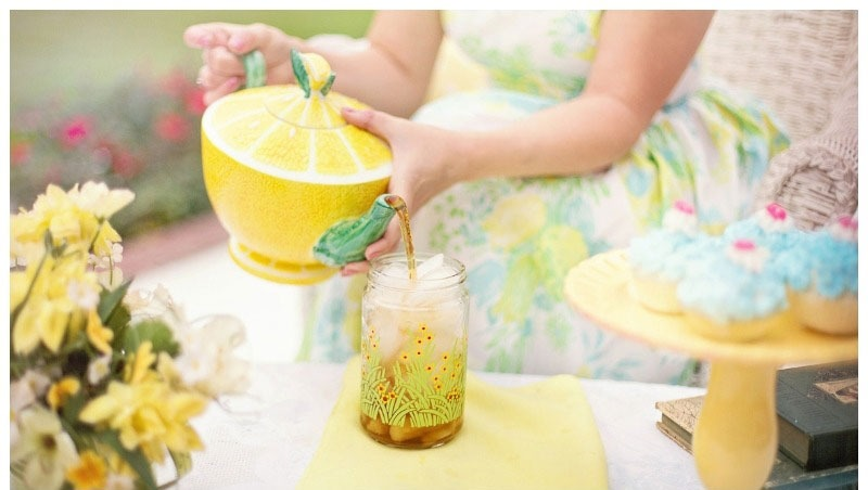 Refreshing tea for the summer  The healthiest, funniest drink!